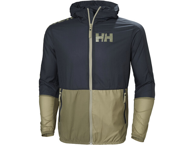 en venta en línea desigual en el rendimiento hombre Helly Hansen Active Chaqueta Cortavientos Hombre, graphite blue